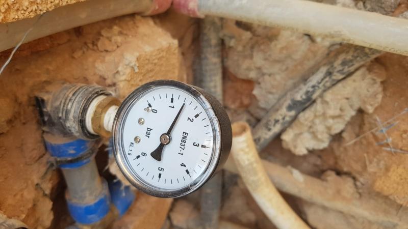 Detección fugas gas